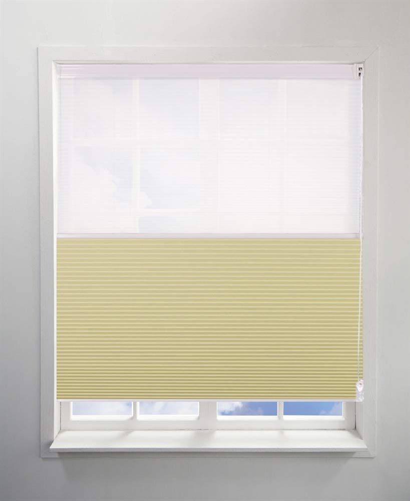 Day&Night honeycomb shades binds